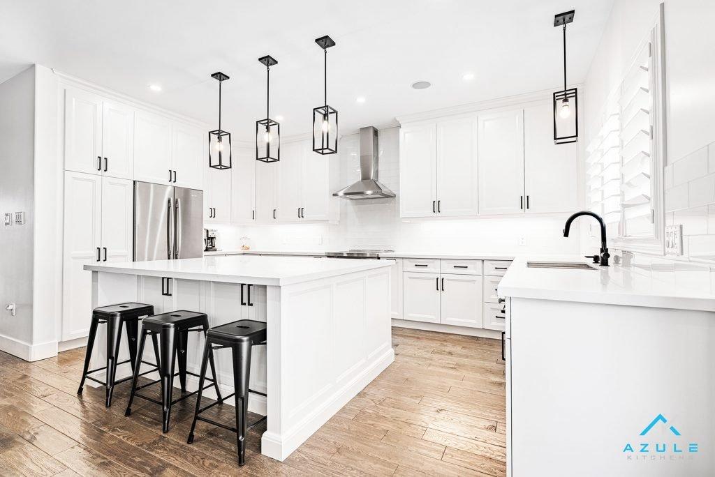 Azule Kitchens - Open Shelving