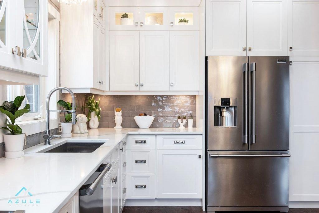 New Kitchen Cabinets Azule Ktichen Hamilton