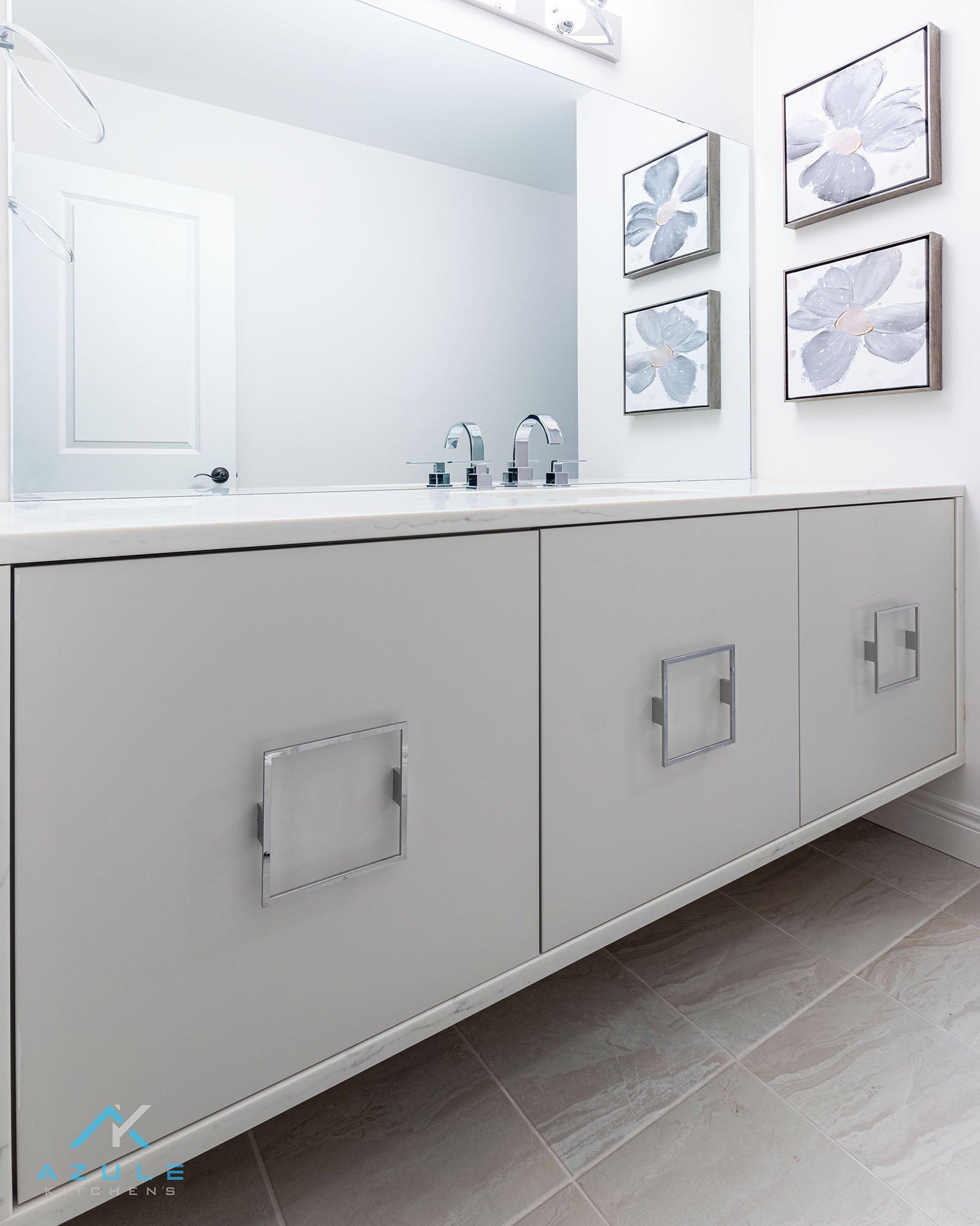 Azule Kitchens – Make a Super-Simple Bath Cabinet