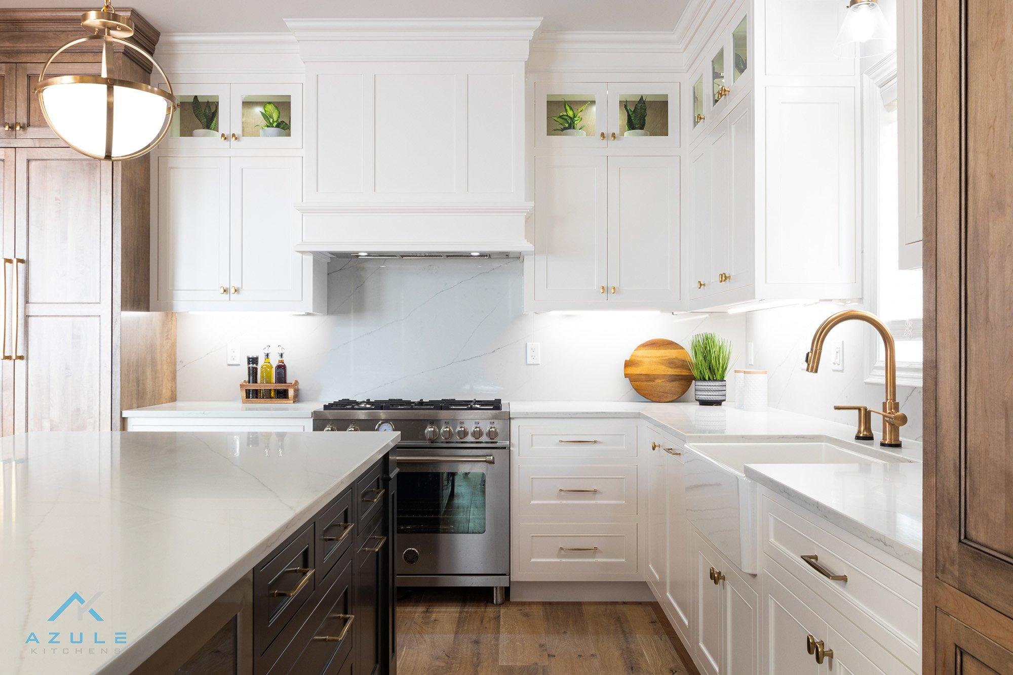 Kitchen Design Gold Cabinet Hardware By Azule Kitchens