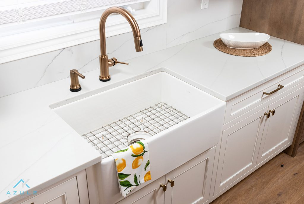 Quartz Countertops And Plumbing Azule Kitchens Page
