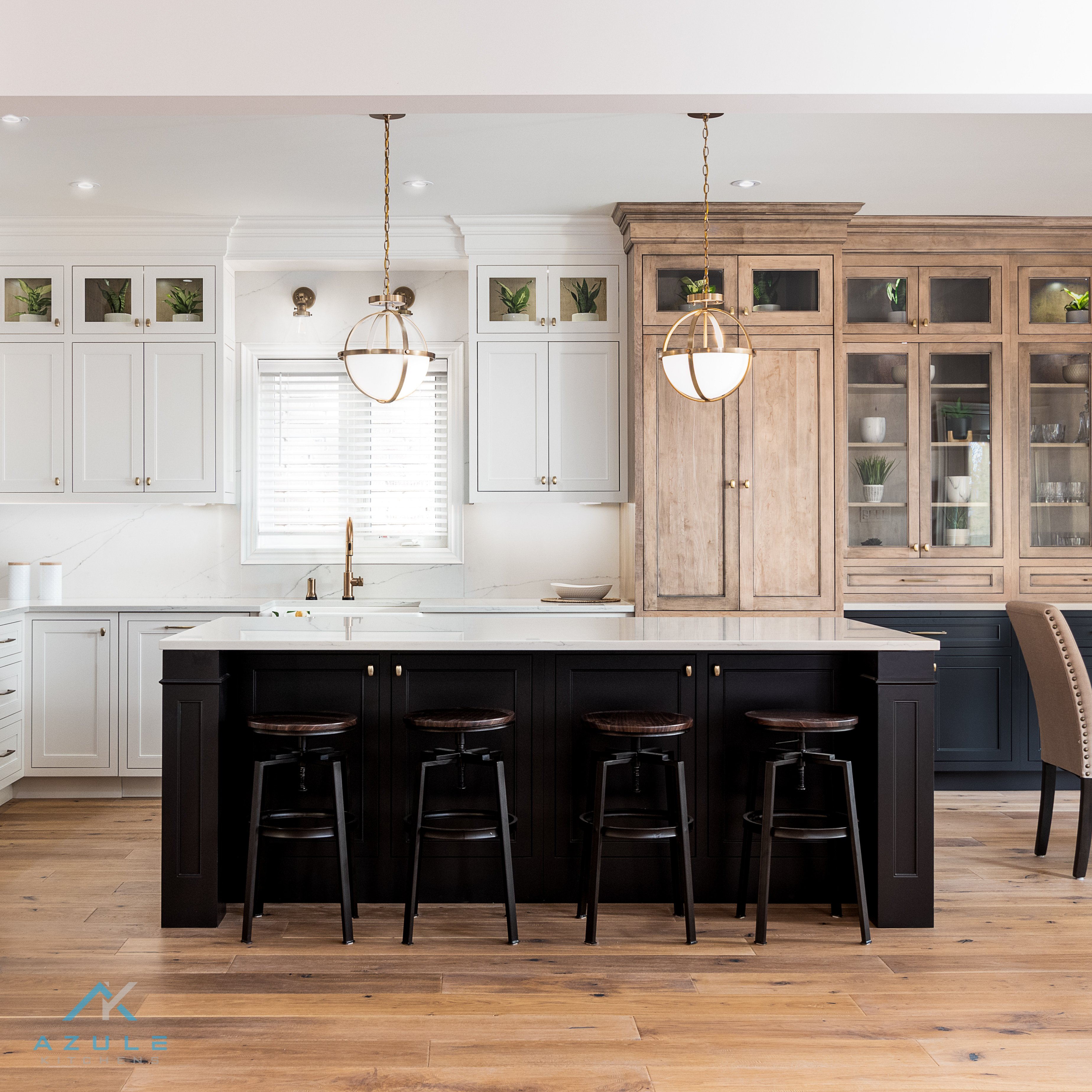 Azule kitchens – Matching Countertops with Cabinets for Stylish kitchen