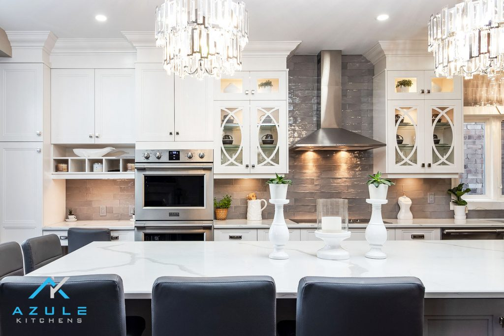 Azule Kitchens - Cabinets With Matching Counter Tops