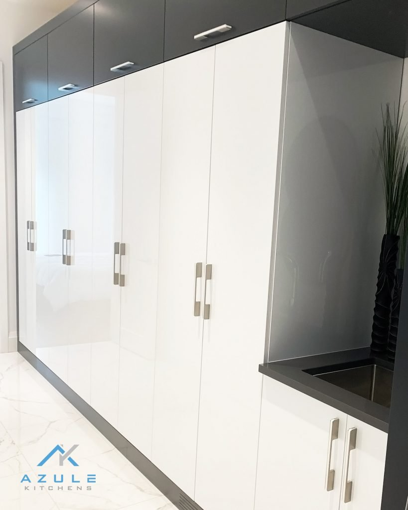 Azule Kitchens - Built In Cabinets for Mudroom